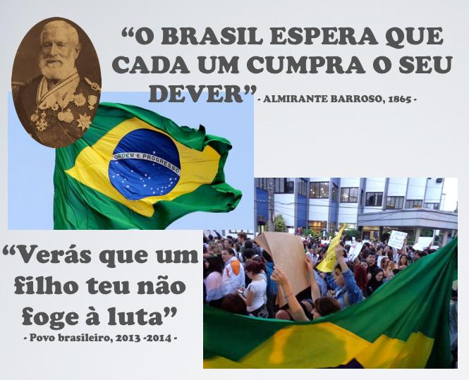 Resultado de imagem para o brasil espera que cada um cumpra com o seu dever