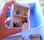 Estante de Baño en Miniatura