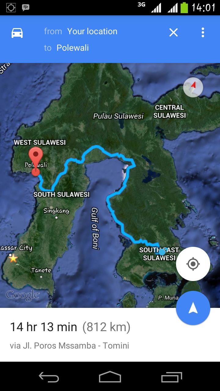 Tips Menggunakan Google Map Agar Tidak Tersesat di Jalan