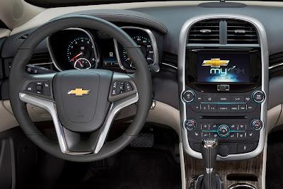 Chevrolet Malibu 2014 interior