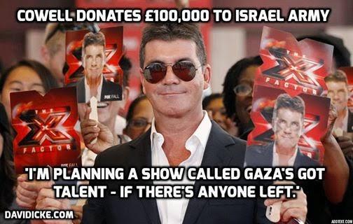 Juri The X Factor Derma 150 Ribu Dolar Kepada Tentera Israel