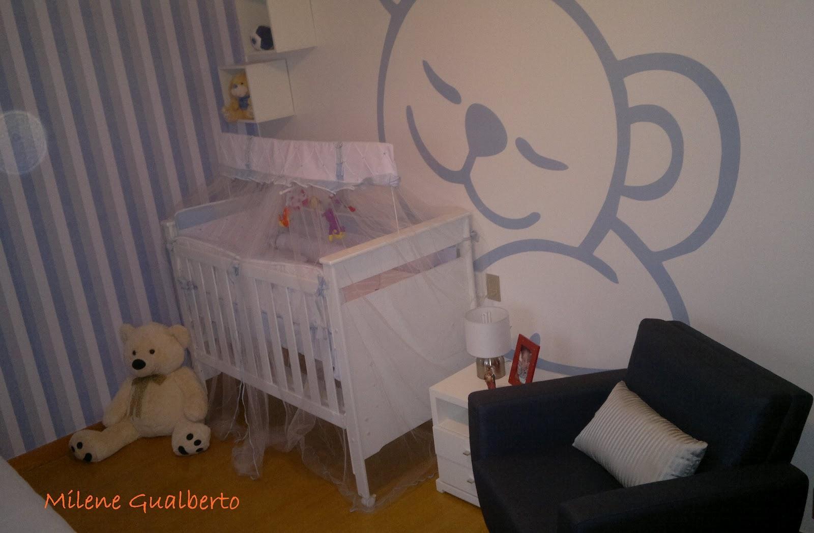 Quarto De Bebe Feminino Moderno Imagem Passo A Passo Para  ~ Quarto Bebe Masculino Moderno E Quarto De Menina Desenho