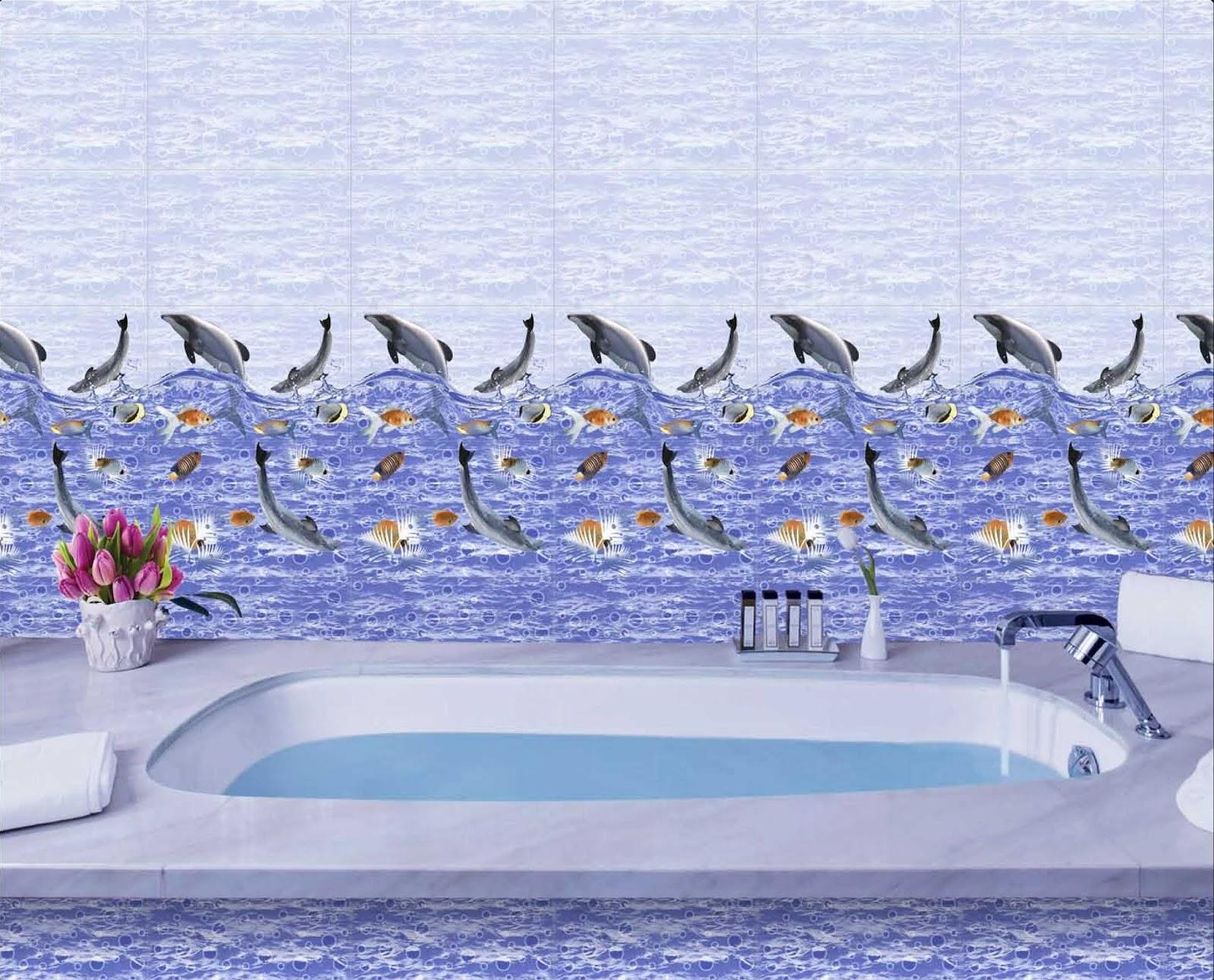 Bathroom ideas bathroom ideas get best tiles for your for Dolphin bathroom design