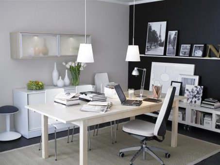 Office Decorations on The Home Office Rarely Needs An Office Modular System  The Office