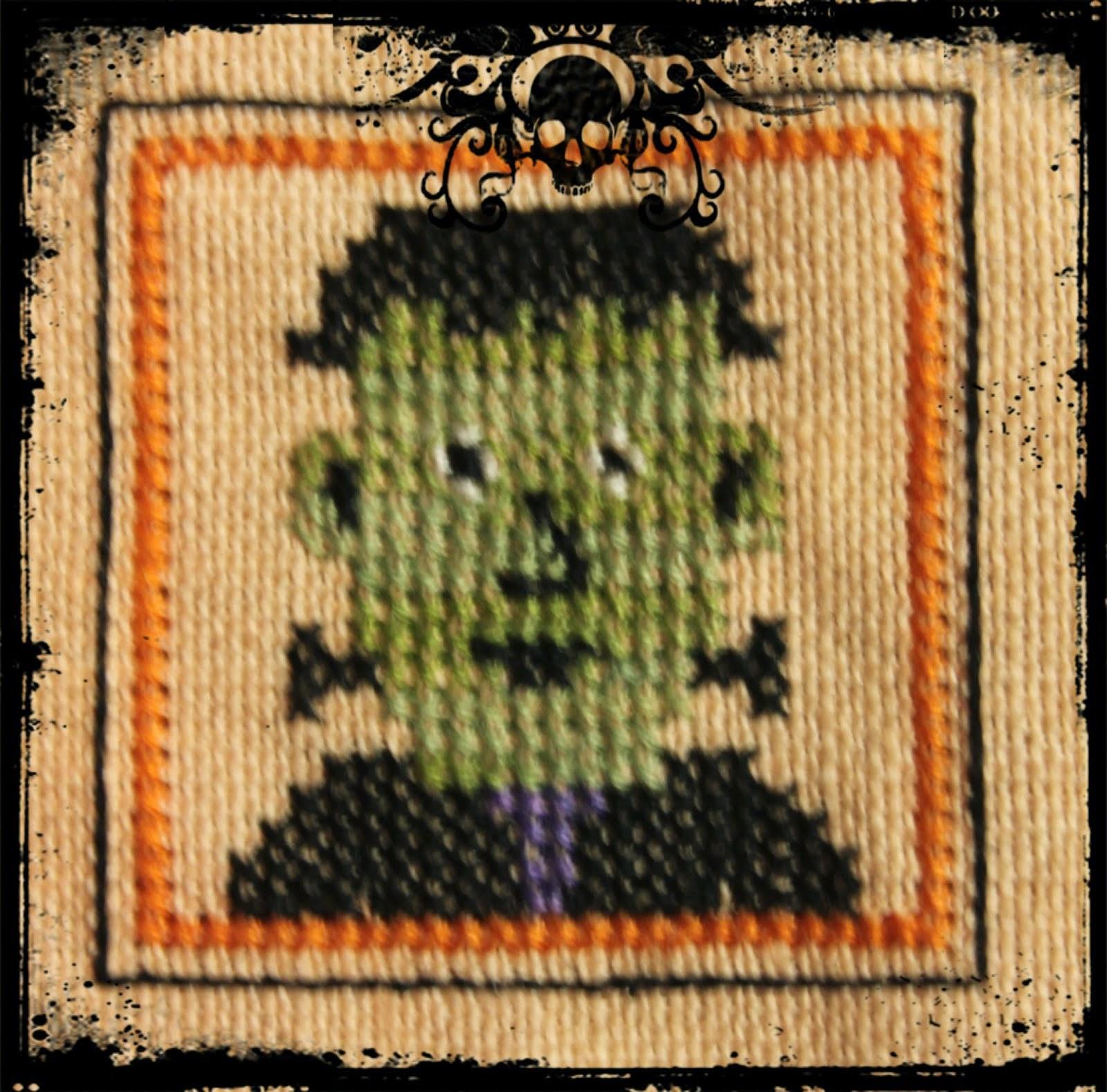 Halloween Ornie SAL 2015