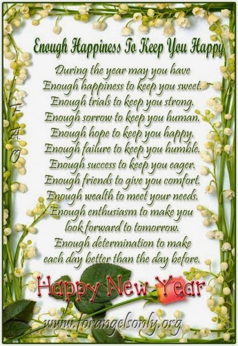 New Year 2014 Wishes Poems Poetry Collection ~ Happy New Year 2013 Tips