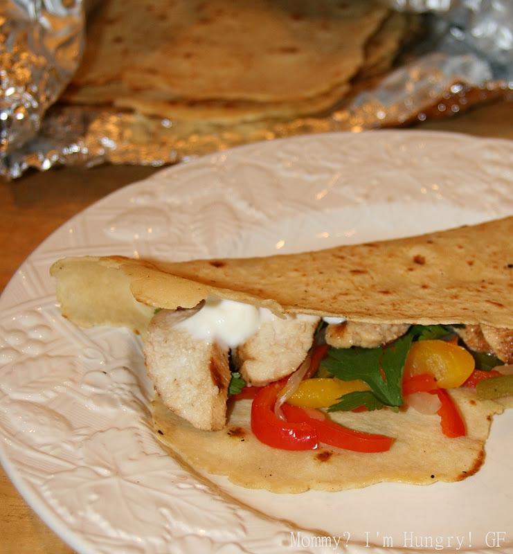 MIH Recipe Blog: Soft Flour Tortillas {Gluten Free}