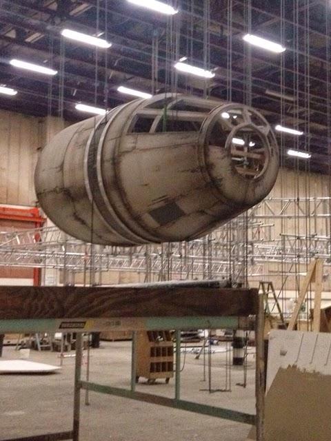 Halcón Milenario en Star Wars Ep. VII