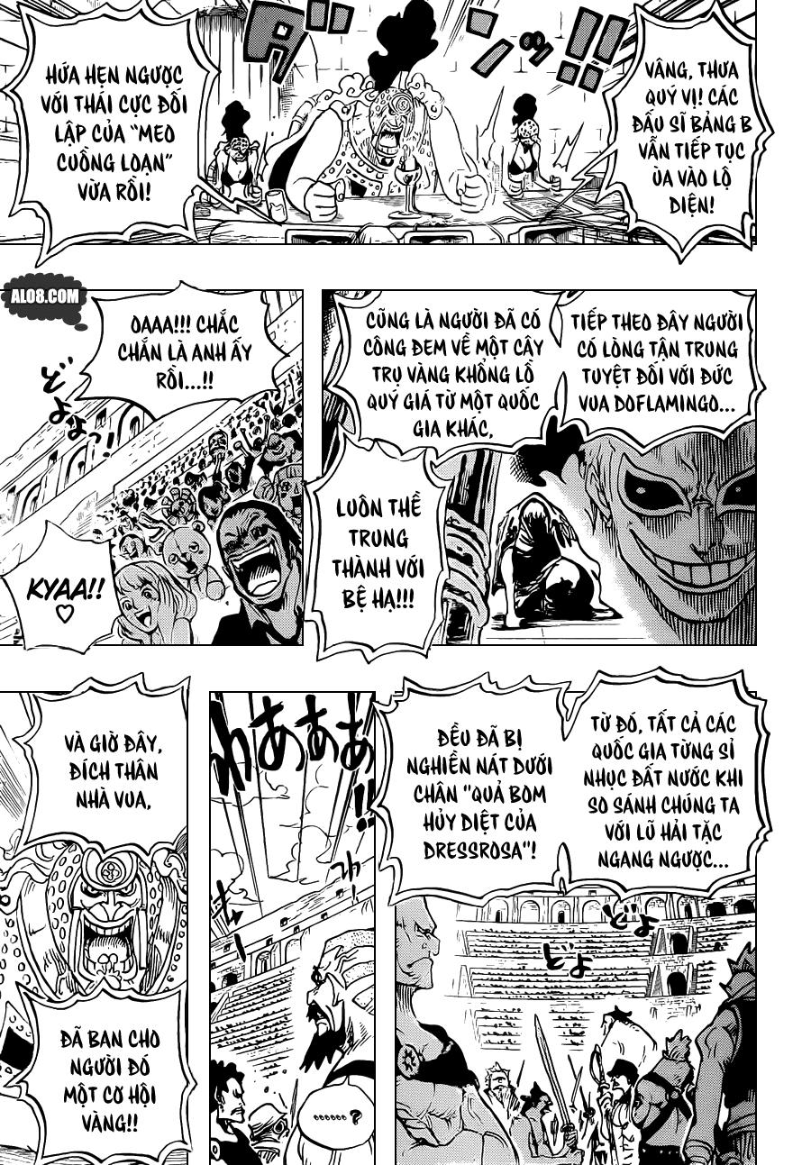One Piece Chapter 706: Ta sẽ không cười ngươi nữa đâu 005