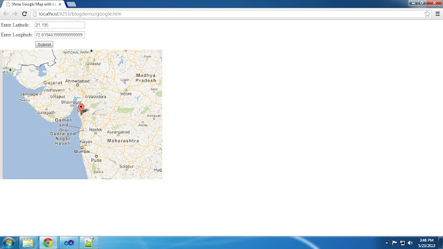 How To Show Google Map with Latitude and Longitude in Asp.net Website HTML Ans c# Asp.net