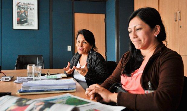 """Dos mujeres de Tocache desenmascaran al partido Fuerza Popular Influencias. La sobrina de """"Eteco"""" S"""