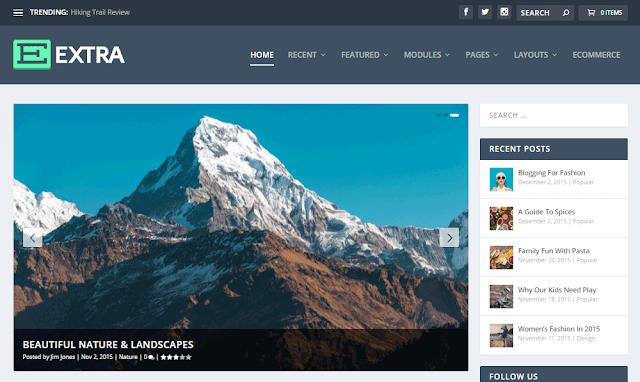 Extra-Wordpress-Theme