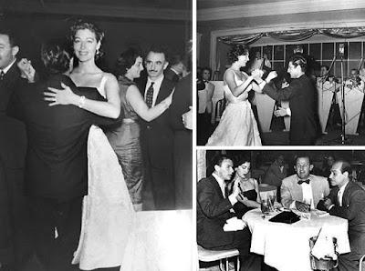 Ava Gadner y Frank Sinatra