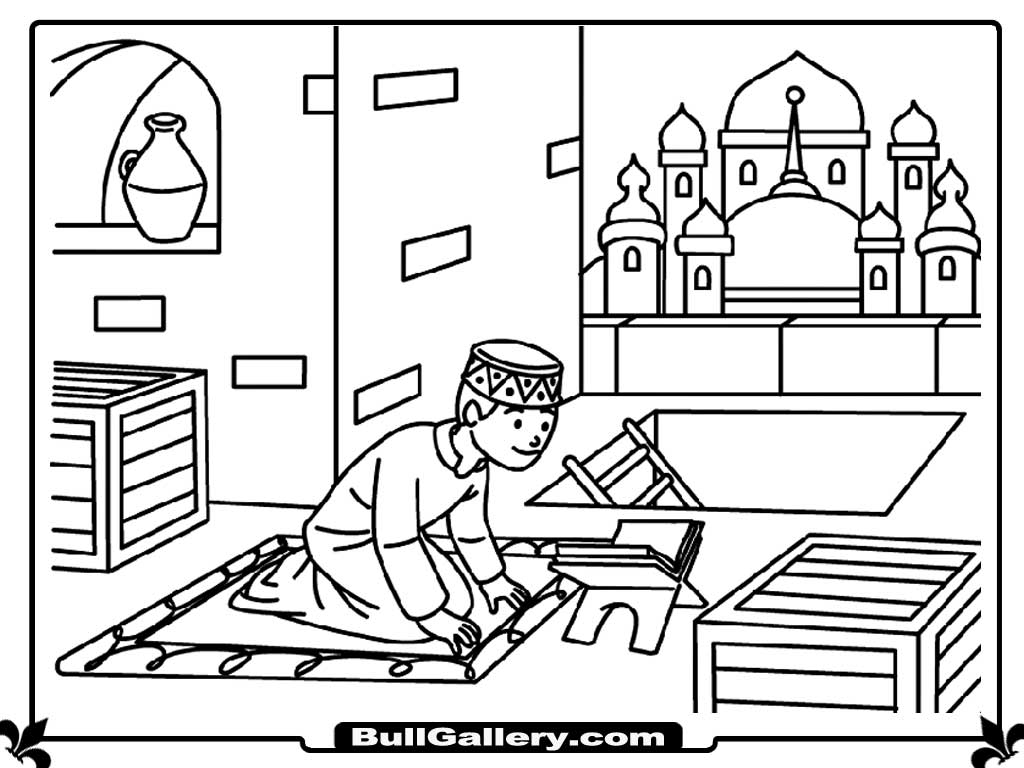 praying kids coloring pages - Jesus Praying Hands Coloring Page