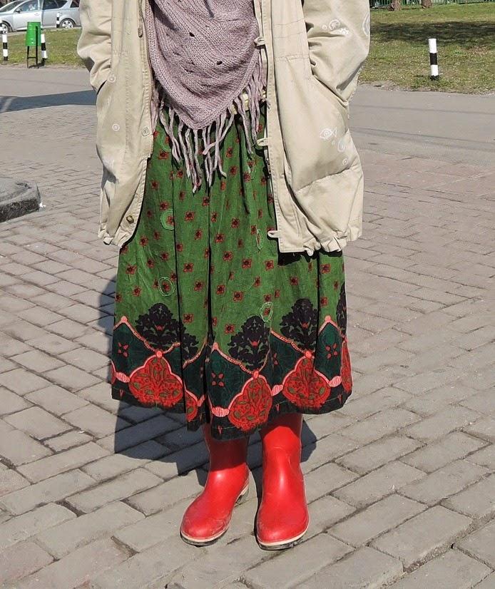 юбка интересной расцветки