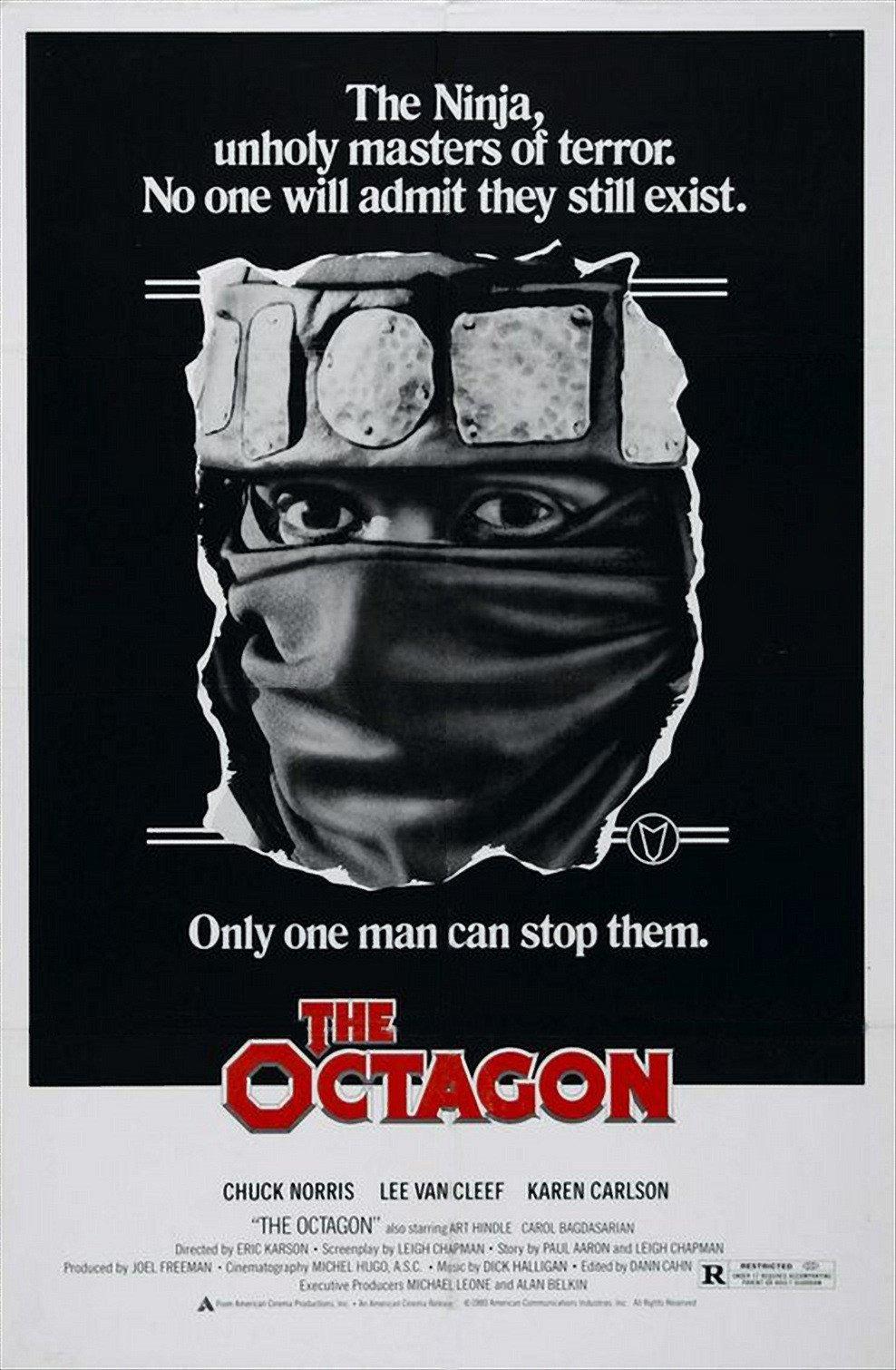 Octagon: Escola de Assassinos – Dublado (1980)