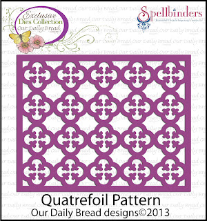 Our Daily Bread Designs, Quatrefoil Pattern Die