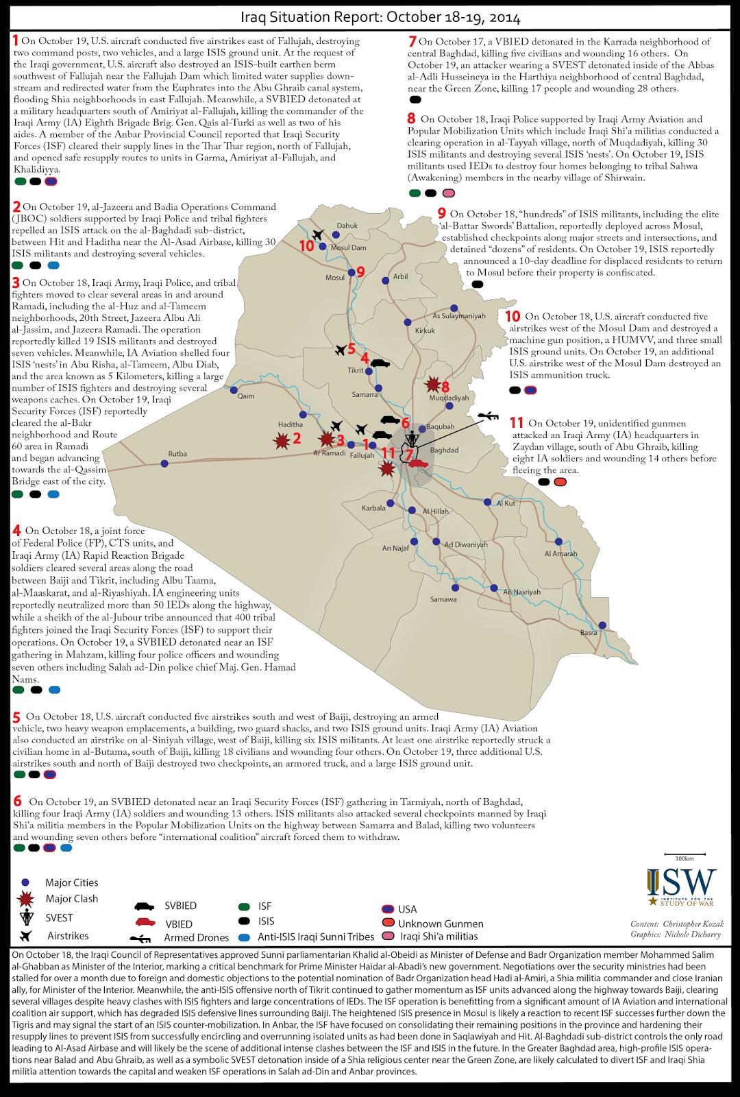 متابعة مستجدات الساحة العراقية - صفحة 7 Iraq%2BSituation%2BReport%2BOctober%2B18-19%2C%2B2014