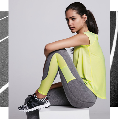 Reebok for Bershka zapatillas deportivas línea sport Start moving
