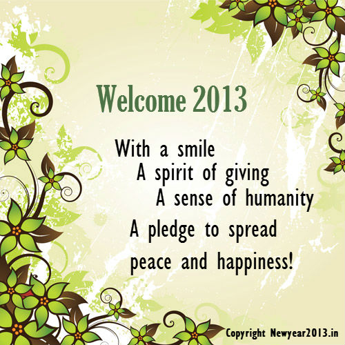 new year wishes | new year 2013 | greetings | greeting cards 2013 ...