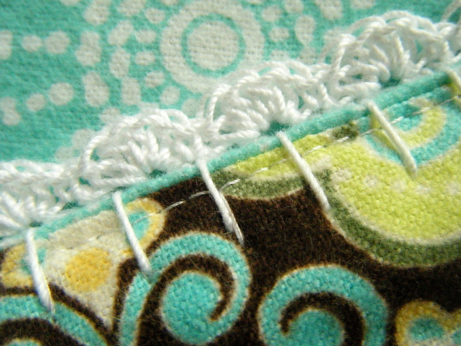 Crochet Baby Blanket Edging Tutorial : no-hemstitch crochet edge receiving blanket {birthday bash ...