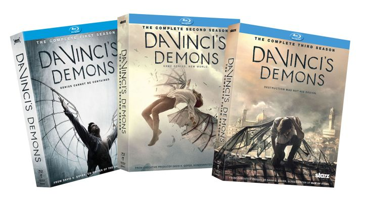 COMPLETED: Enter Our Free #DaVincisDemons Blu-Ray Set Giveaway
