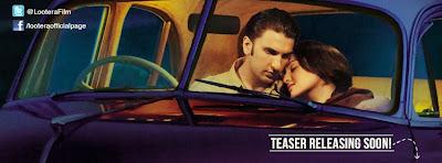 Digital poster of Bollywood upcoming  'Lootera'
