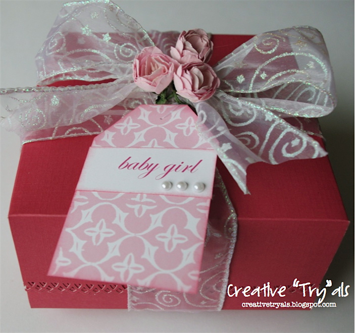 Homemade Baby Gifts Uk : Creative quot try als homemade gift box baby girl