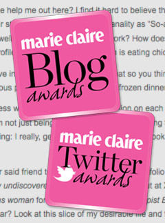 Marie Claire Beauty Blog Award