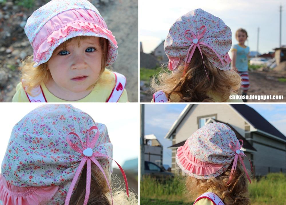 Как сшить шляпку, панамку для девочки