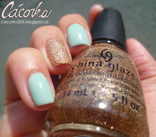 China Glaze - Champagne Kisses