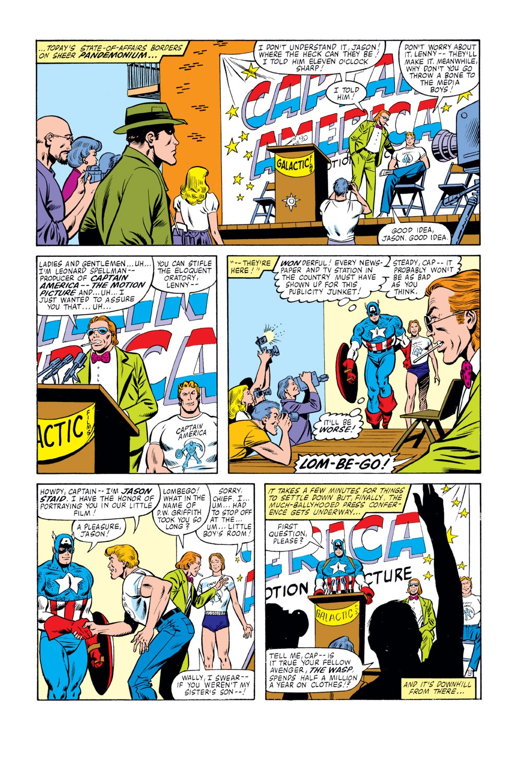 Captain America (1968) Issue #261 #176 - English 17