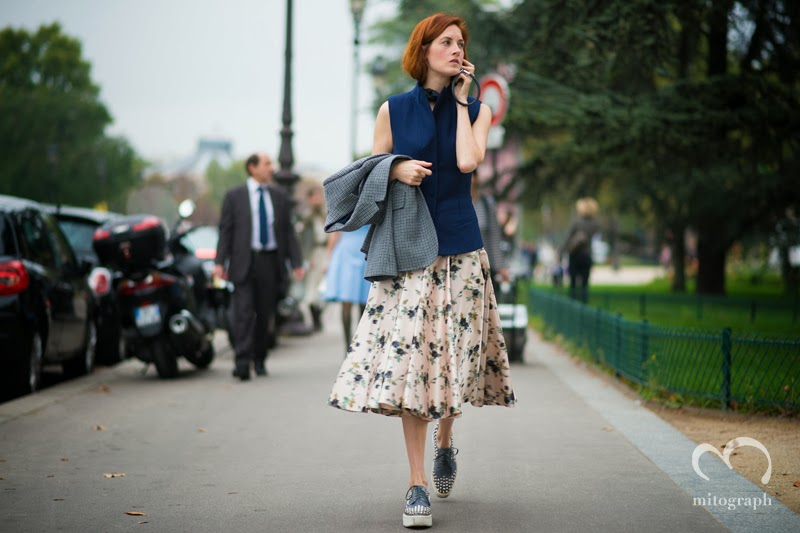 mitograph Taylor Tomasi Hill After Chanel Paris Fashion Week 2014 Spring Summer PFW Street Style Shimpei Mito