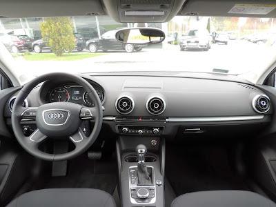 Audi A3 Limuzyna - wnętrze