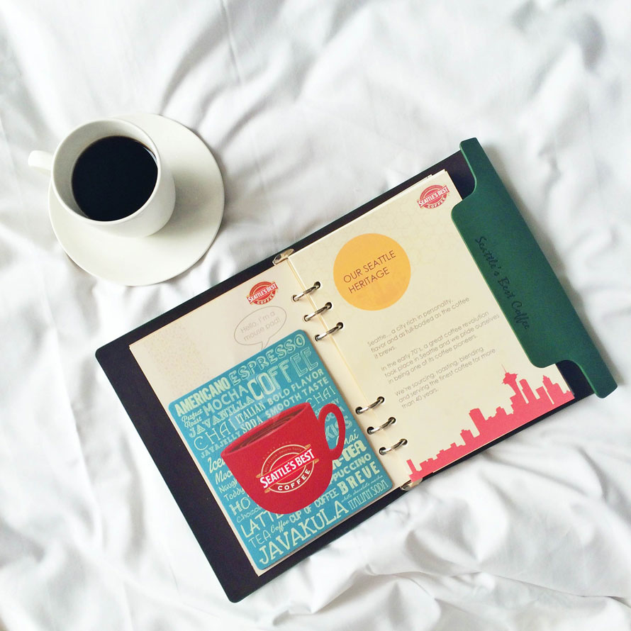 Seattle's Best Coffee's Dream Journal 2015