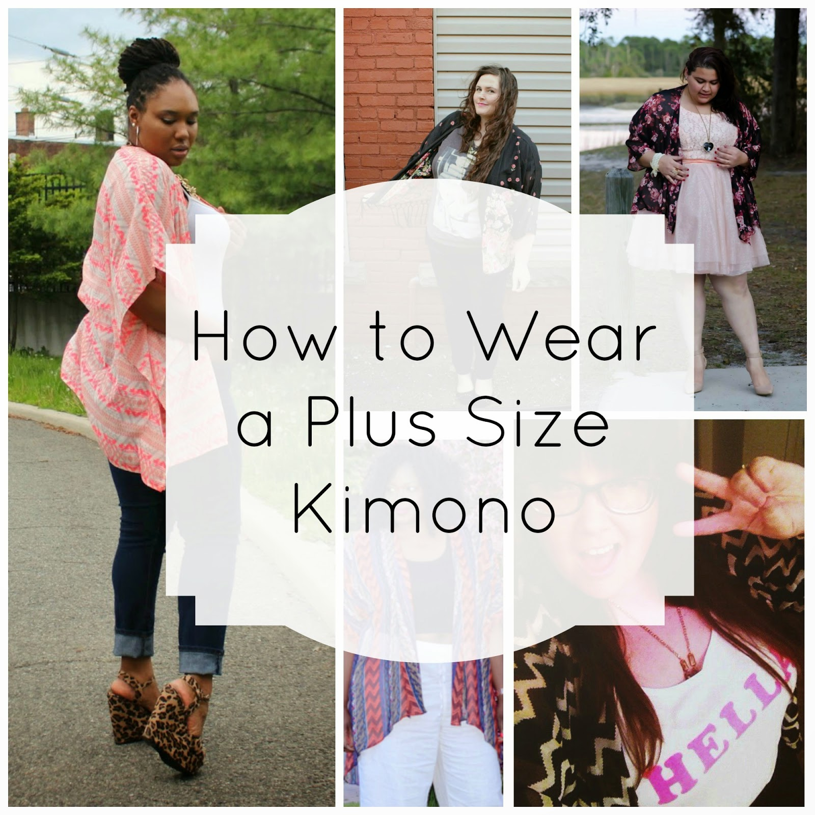 How to Wear a Plus Size Kimono | Alight Plus Size Clothing - Our ...