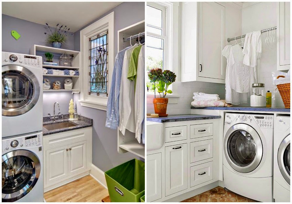 Decotips integrar la zona de lavadero en la cocina for Planos de cocina lavadero