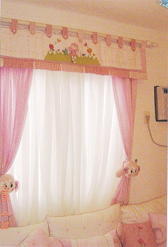 Ateliie Teen Cortinas para quartos de meninas