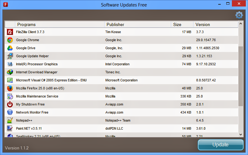 Software Updates 1.1.3  Free Download