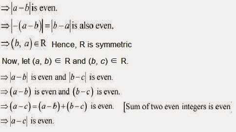 Class XII Maths Chapter 1, Relations and Functions - NCERT Solutions