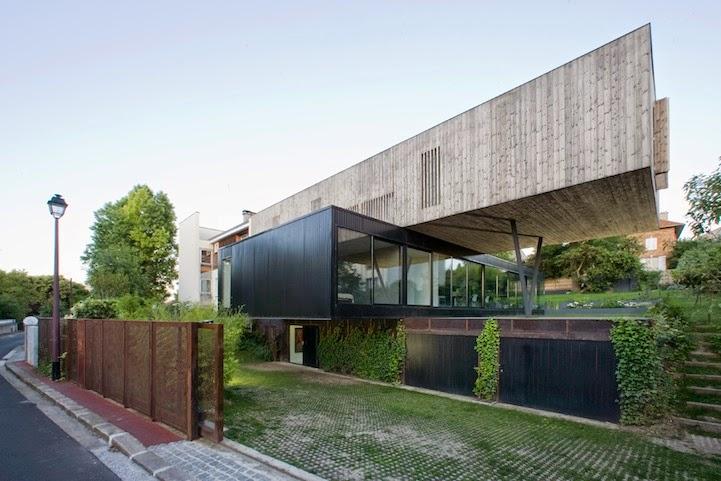 La casa perpendicular