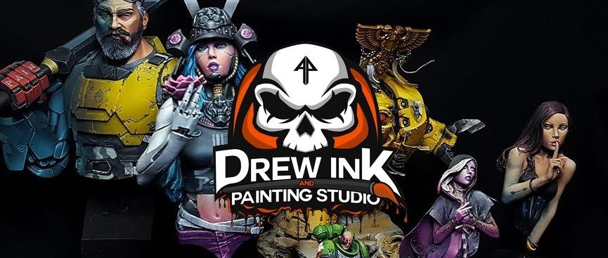 Drew ink and painting