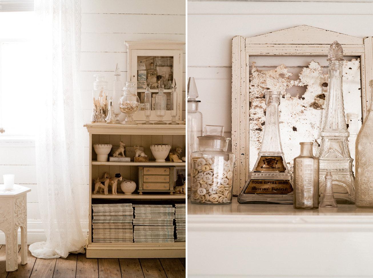 Un cottage circondato dal bianco   shabby chic interiors