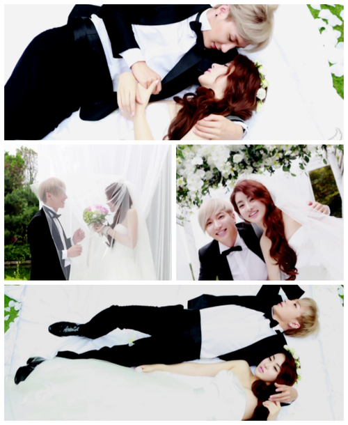 We Got Married Leeteuk and Kang Sora