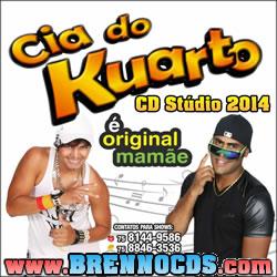 Cia Do Kuarto - Stúdio - CD 2014