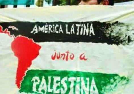 América Latina é solidária com a causa palestina
