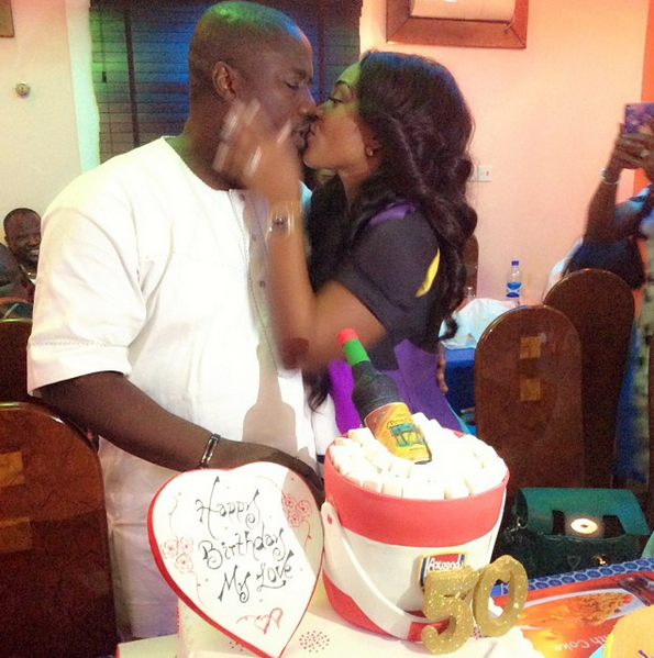 Birthday Cake Ideas For Husband And Wife : Photos: Lagos Hotelier Lanre Gentry Marks 50th Birthday ...