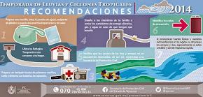 Tenderán a incrementarse condiciones para lluvias por Frente Frío 9: PC