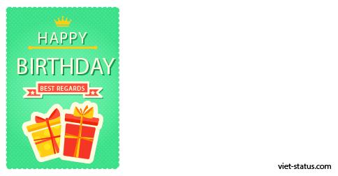 Status chúc mừng sinh nhật - mẫu 12