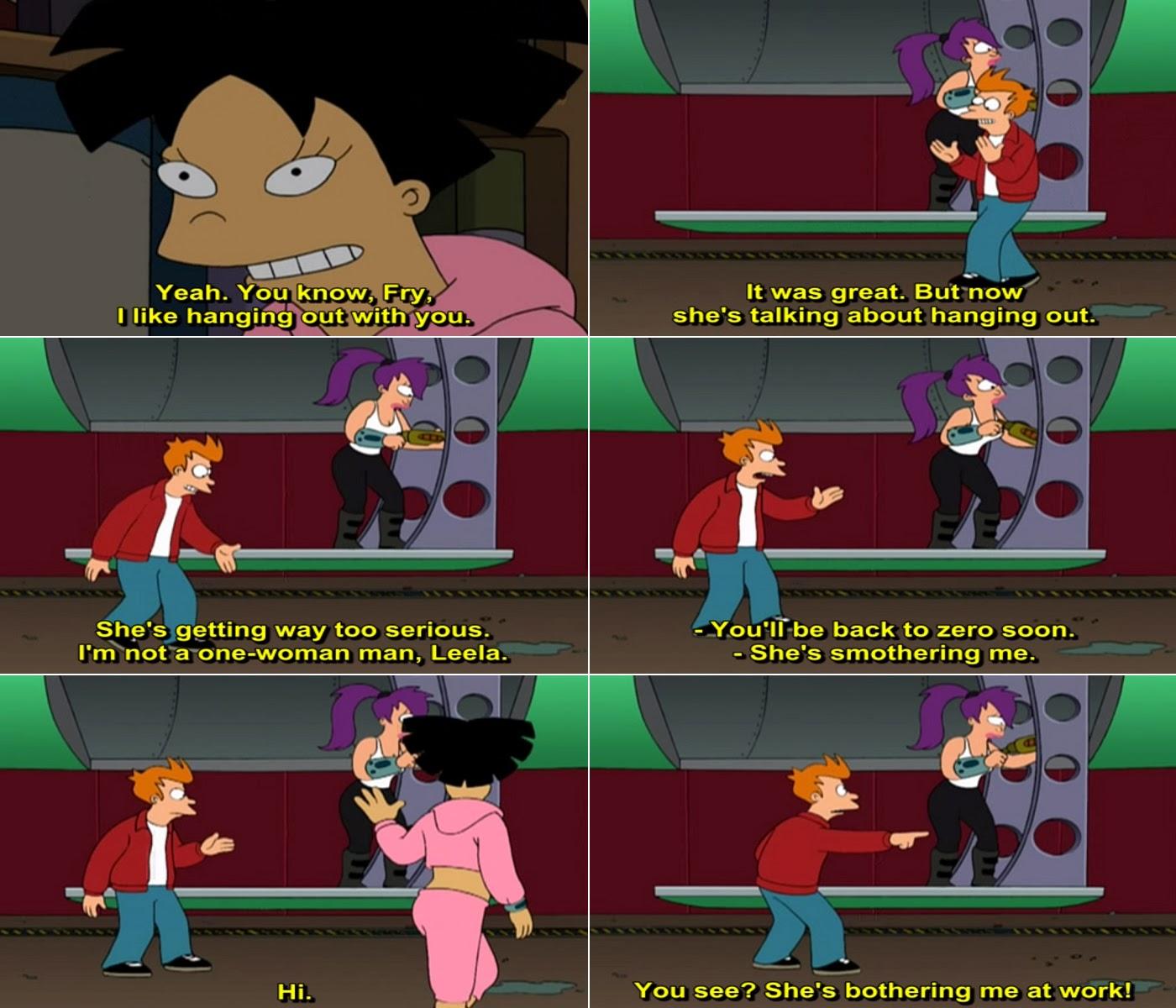 Futurama Love Quotes
